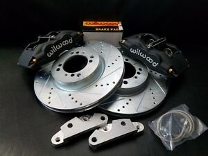 Datsun 240z 260z 280z New Front Disc Brake 4 Piston Wilwood Complete Kit 69 78