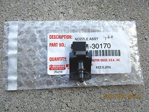 07 11 Toyota Camry Ce Le Se Xle Front Windshield Washer Nozzle Brand New