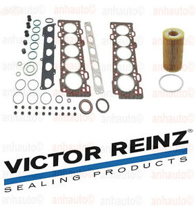 Victor Reinz Head Gasket Set Mann Oil Filter Volvo S40 V50 2 4 L5