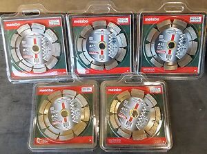 5 pk Metabo 4 1 2 X 250 X 5 8 7 8 Premium Tuck Point Blades
