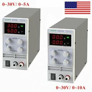 30v 5 10a Adjustable Precision Regulated Dc Power Supply Digital Led Display Ah