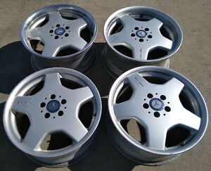 18 Mercedes Benz Amg Cl55 Cl500 Cl600 S420 S500 S600 Oem Wheels Rims Staggered