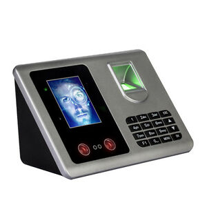2 8 Tft Facial Recognition fingerprint Attendance Access Control System