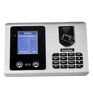 2 8 Tft Facial Recognition id Card Clock Time Attendance Access Control System
