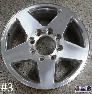 11 15 Gmc Sierra Used Alum Rim 20x8 1 2 8 Lug 180mm Polished 5503