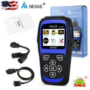 Diesel Gas Heavy Duty Truck Hd Abs Dpf Oil Reset Esp Eps Obd2 Diagnostic Scanner