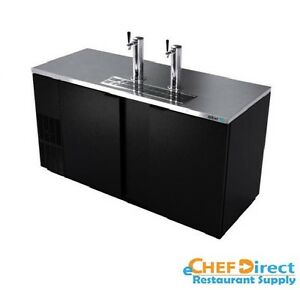 Asber Addc 68 69 1 2 Two section Direct Draw Beer Cooler