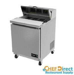 Asber Apts 27 8 27 One Door 8 Pan Sandwich Salad Prep Table