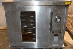 Hobart Cn85 Commercial Bakery Half Size Electric Convection Oven