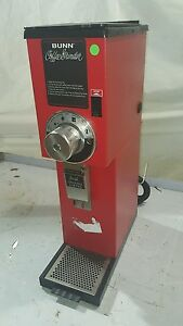 Bunn 22102 0001 2 Lb Bulk Coffee Grinder red G2 Hd Red