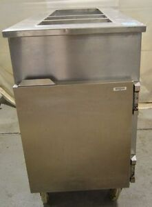 Cook Line Cooler With Open Top On Casters Model M12710