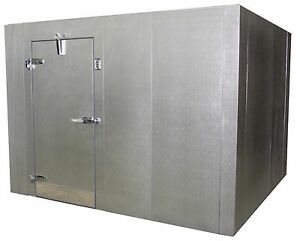 New Walk in Storage Cooler Custom With Or Without Refrigeration Size 8x10x7