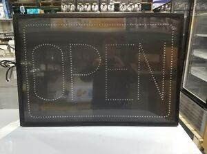 Large Led open Sign lot Of 2