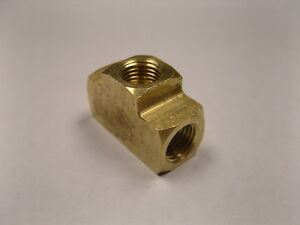 Brass Fittings Inverted Flare Union Tee 3 16 Qty 25