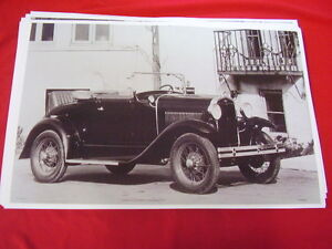 1931 Ford Model A Roadster Big 11 X 17 Photo Picture