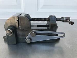 Vintage Craftsman Machinist Tilting Swivel Angle Vise Mill Drill Press 2 1 2 In