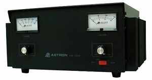 Astron Power Supply 70 Amp With Meters Adjustable Volt Amp Vs 70m