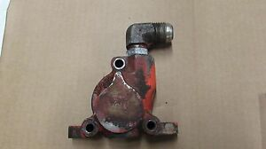 Allis Chalmers 190 Xt Hydraulic Valve Outlet Section