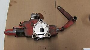 Allis Chalmers 190 Xt Hydraulic Valve Traction Booster Hand Control Section
