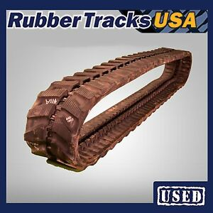 300x52 5nx92 Used Rubber Track 100 100 Fits Ditch Witch Jt2720 Mx272 Hanix