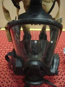 Msa Ultra Elite Full Facepiece Mask Size Small Hud Clear Command Id Tag