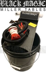 Bucket Black Magic Miller Table Removes Black Sand From Fine Gold