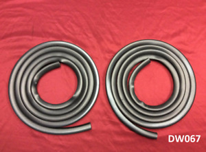 Super Soft 1967 1972 Ford Truck Door Seal Weatherstrip Pair Set Left Right
