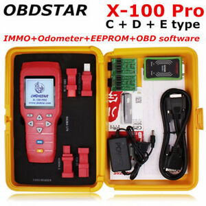Obdstar X100 Pro C D E Car Key Programmer Mileage Correction Odometer Adjustment
