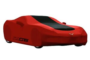 2015 2018 Corvette Z06 Stingray Red Outdoor Car Cover With Storage Bag 23187877