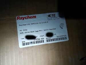 Raychem 55pc1131 12 2 4 6 9 12 3c Shielded Etfe tefzel Cable White 150c 50ft