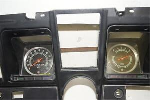 1969 Chevrolet Camaro Used Dash Gauge Bezel With 120mph Speedometer