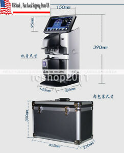 Jd 2600a 7 Touch Screen Optical Digital Auto Lensometer Pd Uv