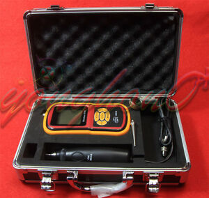 New Portable Digital Vibration Analyzer Vibrometer Temperature Tester Gm63b