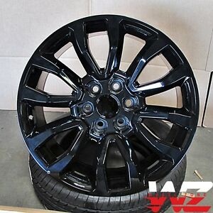 20 Raptor Style Wheels Gloss Black Fits Ford F150 Lincoln Navigator 6x135