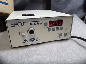 Efos X cite Xc6000 Lite Radiometer Optical Nice Condition 99