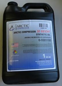 Synthetic Compressor Oil 30 Weight o s501100