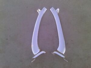 1961 Chevrolet Impala Ss A Pillar Windshield Trim 2 Door Hardtop Oem Bubble Top