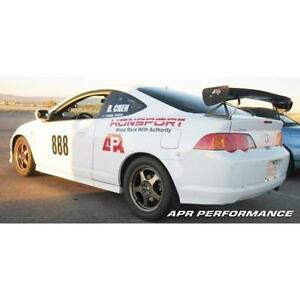 Apr Carbon Fiber Gtc 200 Adjustable Rear Wing Spoiler For Acura Rsx Type S Dc5