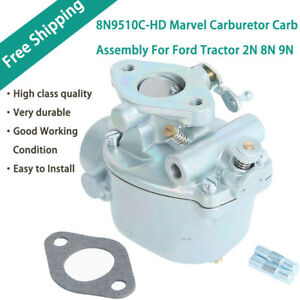 Marvel Schebler Carburetor For Ford Tractor 2n 8n 9n Heavy Duty Tsx33 8n9510c hd