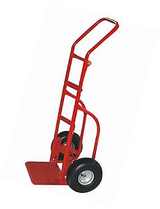 Milwaukee Hand Trucks 33012 Heavy Duty Flow Back Handle Truck With 10 inch Pneum