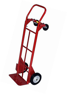 Milwaukee Hand Trucks 40179 Convertible Truck With 8 inch Solid Puncture Proof T