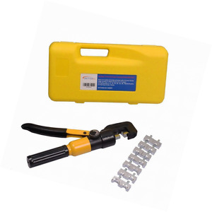 Betooll 10 Ton Hydraulic Wire Terminal Crimper Battery Cable Lug Crimping Tool W