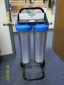 Unger Hiflo Di140 Deionizer Pure Water Filter Cart Window Cleaning Unit Used