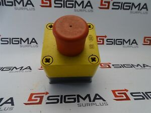 Square D Push pull Emergency Stop Button W enclosure