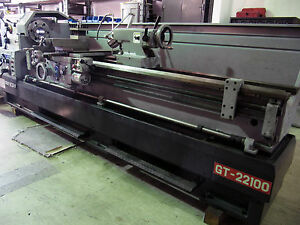 2016 Ganesh 22 X 100 Manual Precision 15 hp Engine Lathe W Dro Gt 22100