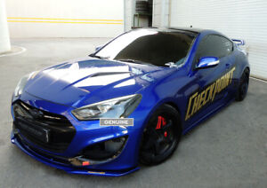 Front Lip For Hyundai Genesis Coupe Bk2 2013 unpainted