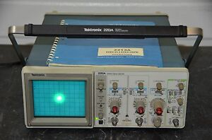 Tektronix 2213a 60 Mhz Analog Oscilloscope With Manual