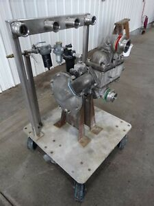 Sandpiper Sb 2 a Double Diaphragm Pump Type Dgn 3 ss Infeed 1 75