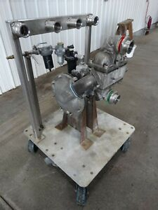 Sandpiper Sb 2 a Double Diaphragm Pump Type Dgn 3 ss Infeed 1 75 d4233