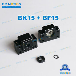 Bk15 Bf15 For Sfu2005 2010 2004 2020 Ball Screw End Support Diy Cnc Parts